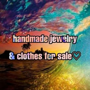 Handmade jewelry & clothes for sale